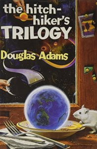 The Hitchhiker's Trilogy by Douglas Adams